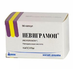 Антибиотик Невиграмон для лечения заболевания пиелонефритом у детей