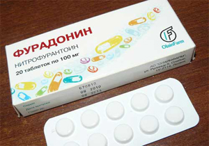 антибиотик фурадонин для лечения острой формы пиелонефрита