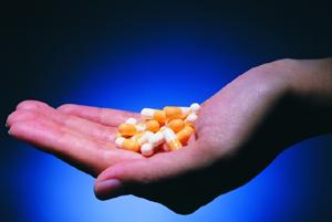 Таблетки в виде капсул