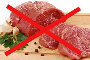 Употребление мяса запрещено при нефролитиазе