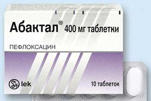 Абактал в таблетках