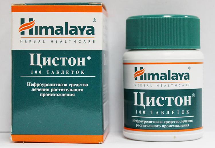 Упаковка препарата Цистон - 100 таблеток