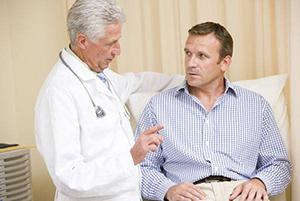 Консультация у врача по поводу цистита
