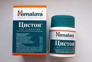 Растительный препарат Цистон