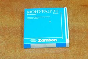 Монурал 3 грамма