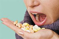 Прием таблеток и алкоголя