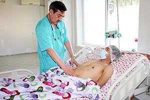Пациент спустя 5 суток после пересадки почки