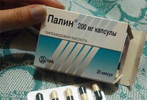 Лечение цистита препаратом Палин