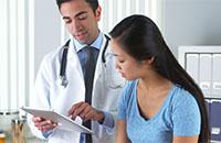 На приеме у врача по поводу аденомы надпочечника