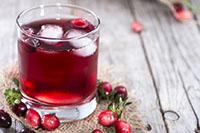 Напиток из клюквы