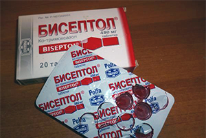 Лечение мочевого пузыря бисептолом