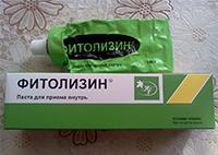Паста для приема внутрь Фитолизин