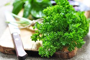 Зелень из огорода