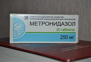 Способы применения Метронидазола