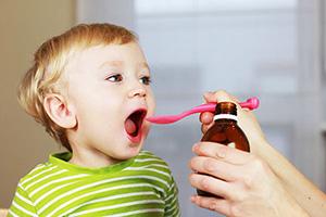 Прием препарата ребенком