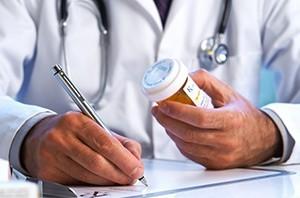 Прием таблеток по назначению врача