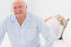 Недержание у пожилого мужчины
