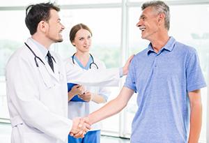 Пациент после литотрипсии