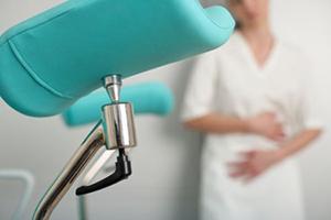 Осмотр в гинекологическом кресле