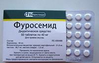 фуросемид в таблетках