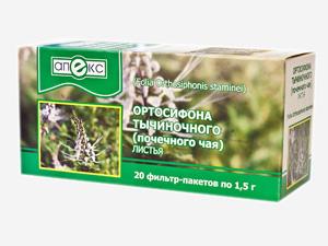 Почечный чай - листья ортосифона