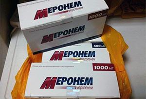 Препарат Меронем