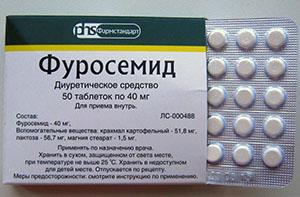 Таблетки Фуросемид