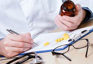 Назначение лекарственного средства