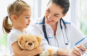 Ребенок на приеме у нефролога